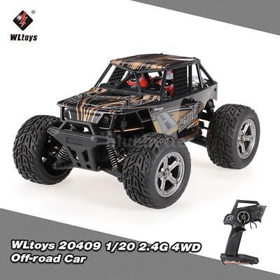 WLtoys 20409 1/20 2.4G 4WD Off-road Car Electric Cross-country Vehicle RC J1T0