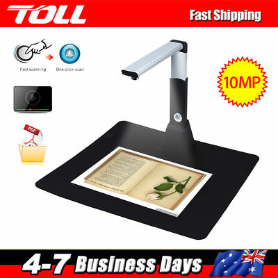 Portable High-Speed A3 A4 Document Photo Book Video Cam Scanner Visualizer H1000