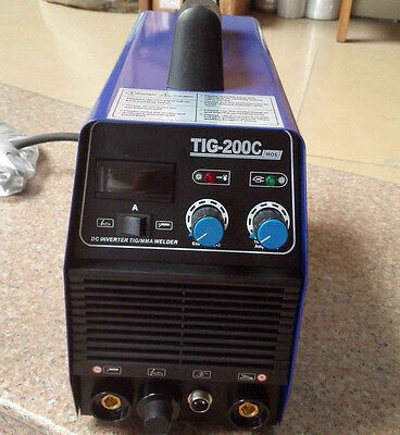 TIG/MMA DC Inverter Stainless 200A TIC-200 Welder 220V ARC Welding Machine New