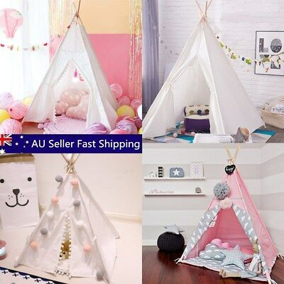 Kids Game Toys Play Teepee Pet Tents Portable Camping Travel Beach Outdoor Cubby