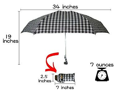 KUD  Compact Sun&Rain Pocket Umbrella