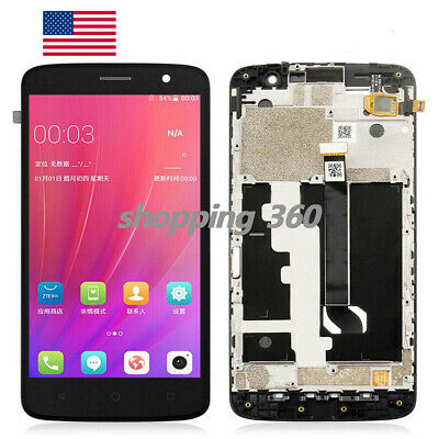 "OEM FOR 5.5"" AT&T ZTE Blade Spark Z971 LCD Display+Touch Screen+ FARME US"