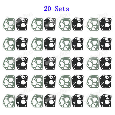 20 Set Carb Diaphragm Gasket Kit For Briggs & Stratton 495770 795083 5083H 5083K