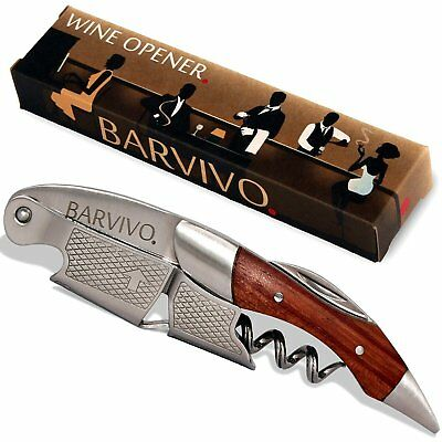 Barvivo Professional Waiters Corkscrew Beer and Wine Bottle Opener
