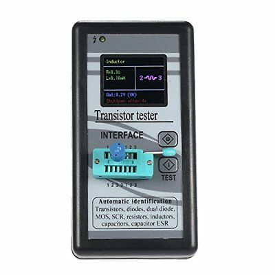 KKmoon Multi-functional Transistor Tester with 128*160 TFT Color Display Diode