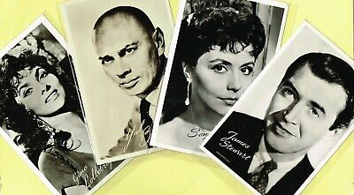 TAKKEN - 1950s Film Star Postcards issued in Holland #AX1985 to #AX3010