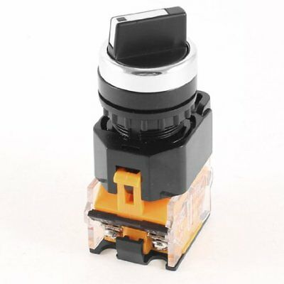 380V 10A DPST 4pin 2 Position Selector Self-Locking Push Button Switch