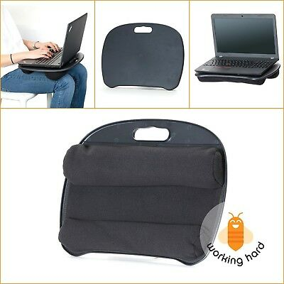 PORTABLE LAPTOP DESK Lap Pad Tablet Notebook Computer Bed Comfort Cushion Stand