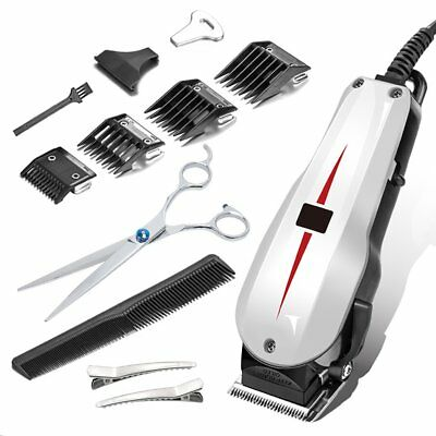 Professional Barber Hair Machine Set Electric Trimmer Beard Body Men Cut Clipper
