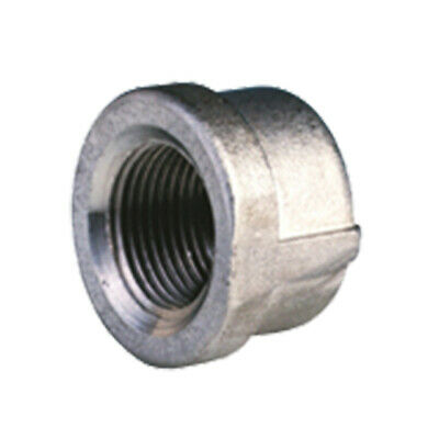 "STAINLESS STEEL 316 BSP END CAP - 1/8"" To 4""  -  RATED 150lb"