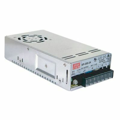 Mean Well SP-200-24 200W 24V Active PFC Enclosed Power Supply