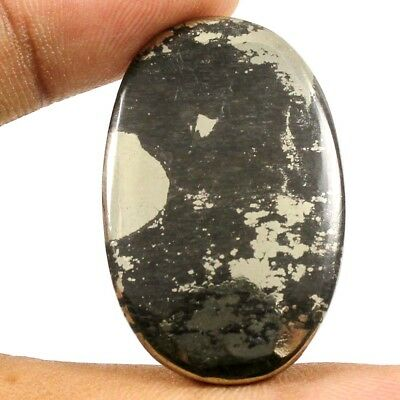39.55 cts Natural Apache Gold Pyrite Nice Designer Gemstone Oval Loose Cabochon