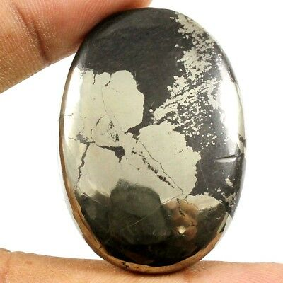 104.30 cts Natural Apache Gold Pyrite Nice Designer Gemstone Oval Loose Cabochon