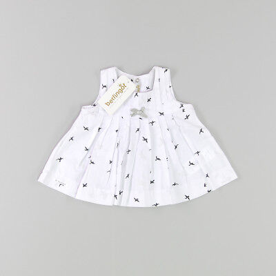 Blusa color Blanco marca Berlingot 6 Meses