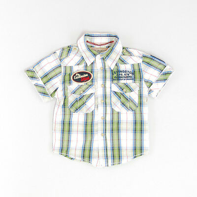 Camisa color Verde marca Kevingston 12 Meses