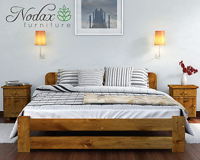 """*NODAX*_Wooden Furniture Pine Super King Size Bed/Select Underbed Storage -""""ONE"""""""