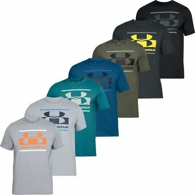 Under Armour 2018 Mens UA Blocked Sportstyle Logo Charged Cotton® T-Shirt
