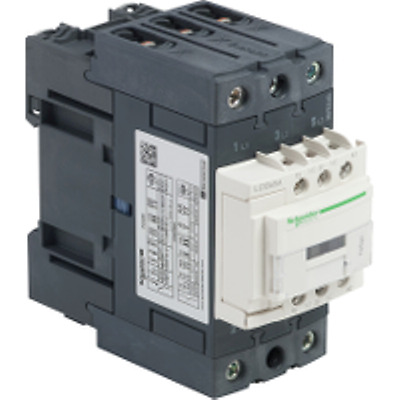Schneider Electric TeSys Offer (LC1D65AB7) 3 Pole Contactor ;37kW ; 24V AC Coil