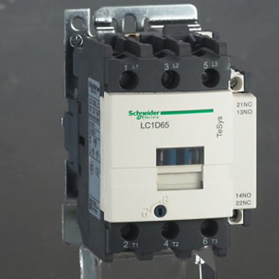 Schneider Electric TeSys Offer (LC1D65AU7) 3Pole Contactor ;37kW ; 240V AC Coil