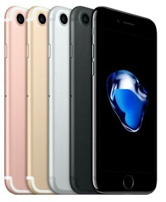 Apple iPhone 7 - 32GB 128GB 256GB (Factory GSM Unlocked; AT&T T-Mobile)