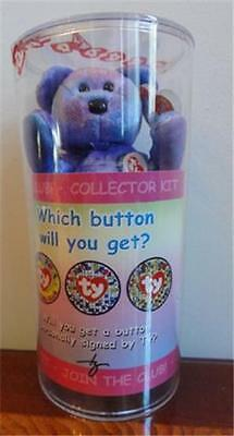 TY Beanie Baby - Clubby IV - Official Club Complete Kit -  MINT Condition!
