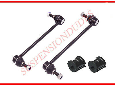4PC Front Sway Bar Links + Front Bushings for 2005-2012 Ford Escape