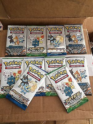 Job Lot Pokemon Sample Packs Mixed Pokmon Trading Card Game X