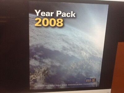 Malta 2008 Year pack complete year sets and mini sheet MINT NH VF