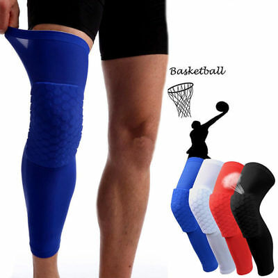 Antislip Basketball Leg Knieschützer Crashproof Langarm Gear Honeycomb Pad
