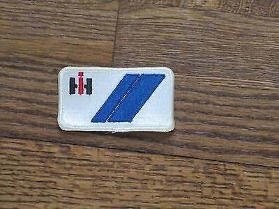 """international harvester""""IH"""" ,patch,60's new old stock,rectangle 3.5""""x1.75"""""""