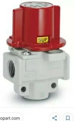 """Lock Out Valve SMC VHS30-N03A-Z NEW!! Pneumatic Pressure Relief 3/8"""" Npt Exhaust"""