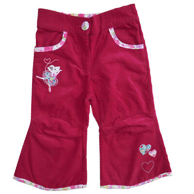 Powell Craft Purple Corduroy Trousers age 1-2, 2-3, 4-5 Years