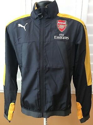 2625adfa48b9 PUMA ARSENAL STADIUM Vent Fly Emirates Men s Jacket Sz S -  45.90 ...