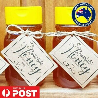 100% Pure Australian Honey Raw Organic 1 Kg - Direct from the Beekeeper