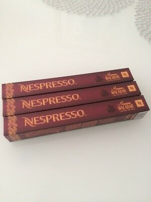 NESPRESSO 30 capsules MONSOON MALABAR New coffee Limited Edition 2015