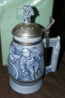 Avon Collectible Beer Stein Conquest of Space New in Box