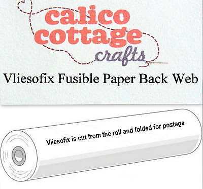 Vliesofix Paperback Double Sided Fusible Web Quilting Applique FREE POST
