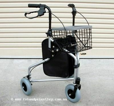 Aidapt Tri-Walker 3 Wheel Mobility Rollator Walker - Brand New