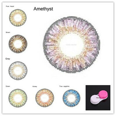 Big Eyes Colored Contacts Lentilles Cosplay Cosplay Parti Cercle Lentilles Paire