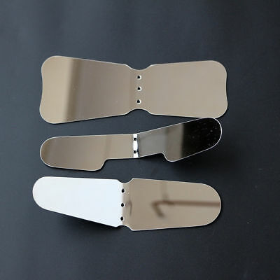 Dental Stainless Steel Oral Orthodontic Mirror Reflector Photographic 3pcs/set
