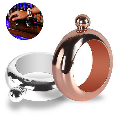 3.5oz Booze Wine Pot Bracelet Bangle Flask Alcohol Drink Festival Jewellery Gift