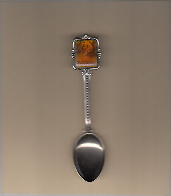 Australiana-Billabongs-[Galaxy 1980s Spoon]-Australia-Souvenir Spoon