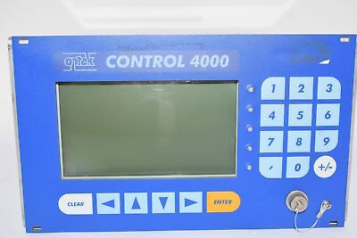 Optek C4000 Control 4000 Photoelectric Analyzer 115-230V Photometric Converter