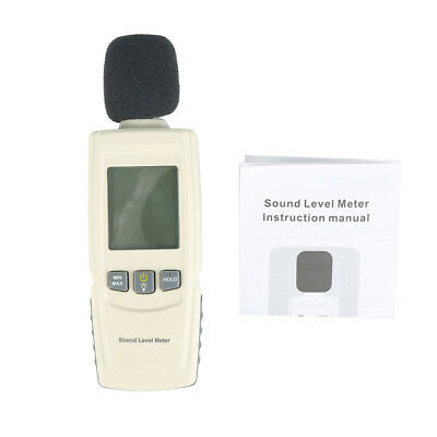 Precision Sound Pressure tester Meter Decibel Noise Measurement 30~130dB M2ZL