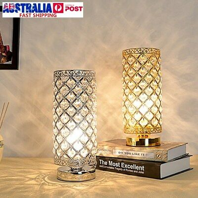 NEW Crystal Table Lamp Bedroom lights Bedside lamp Creative table lamp AU STOCK