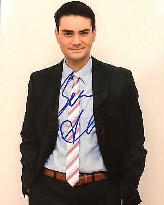 PROOF! BEN SHAPIRO Signed Autographed 8x10 Photo Conservative