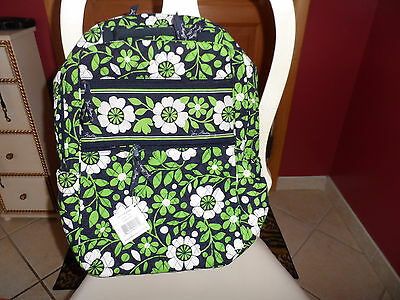 Vera Bradley  Tech backpack Lucky You pattern  NWT