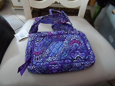 Vera Bradley Little Hipster in Lilac Tapestry Pattern NWT