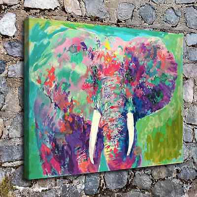 "12""x16""Abstract Elephant Poster HD Print on Canvas Home Decor Wall Art Picture"