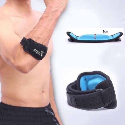 US Men's Baligh Tennis Elbow Support Brace Golf Strap Epicondylitis Lateral Gym